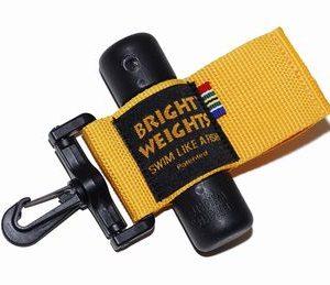 Bright Weights Holsterband, met haak voor 2 lood staafjes
