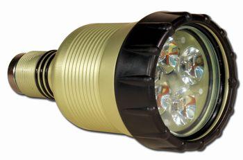 Greenforce Quadristar P4 D (4 leds lampkop)